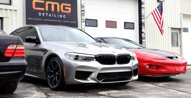 CMG Detailing preps new M5 with 5-year Ceramic coating protection