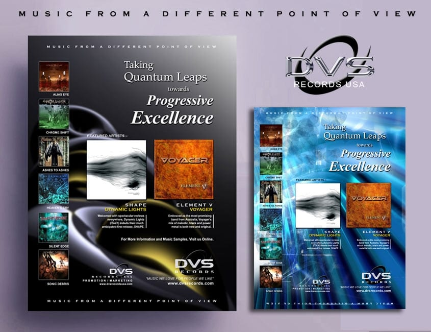 Record Label Poster Design and Promotion