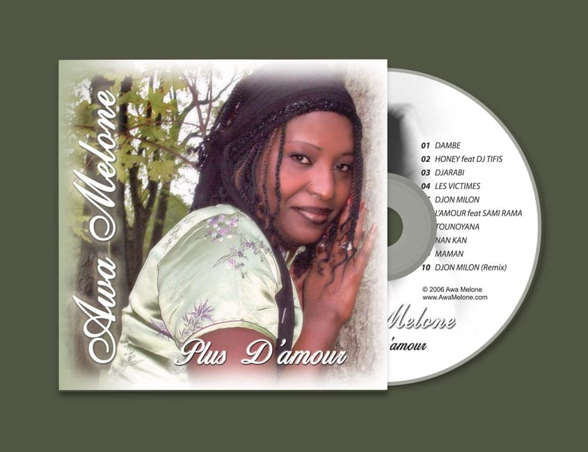 Singer Songwriter CD Design and Photography (West Africa)