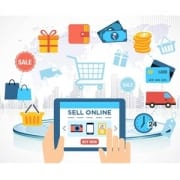 selling online and shopping online image