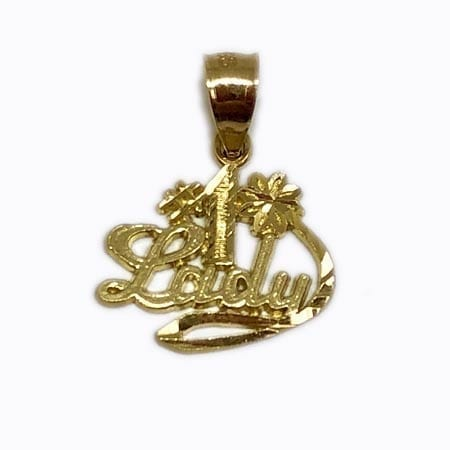 First Lady Pendant 14K Yellow Gold