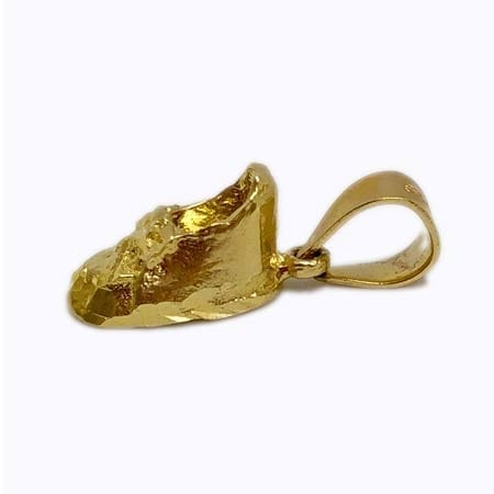 Very Cute Baby Shoe Pendant 14K Yellow Gold
